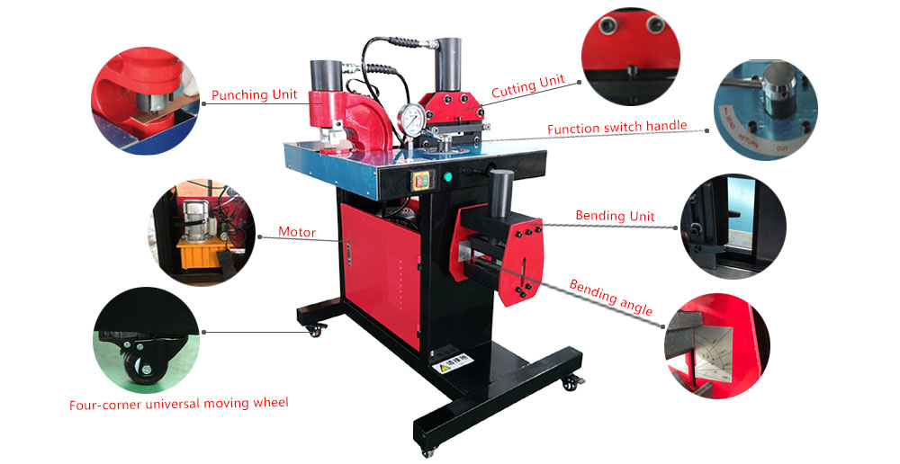 Portable busbar processing machine(图1)